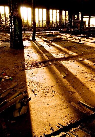 Staring At The Sun by Simon Deadman