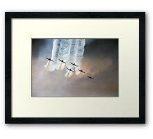 Formation flying Framed Print