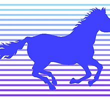 Horse Graphic by kwg2200