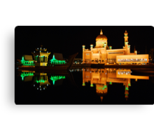 Floating Mosque Canvas Print