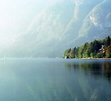 Into the haze, Bohinj by Stephen Jackson