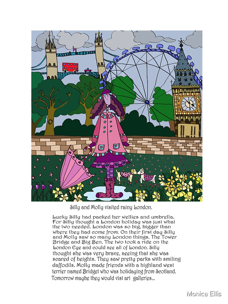 Silly London by Monica Ellis