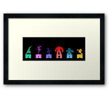 Be Heroes  Framed Print