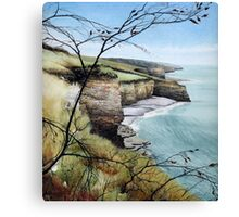 Towards Llantwit Major - South Wales coastal view Canvas Print