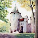 Castell Coch, Cardiff by Helen Lush