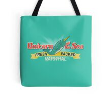 Unicorn of the Sea Tote Bag