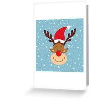 Rudolf Greeting Card