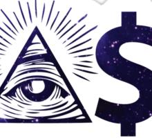 easy money Sticker
