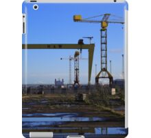 Harland & Wolff Crane Collection iPad Case/Skin