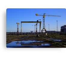 Harland & Wolff Crane Collection Canvas Print