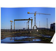 Harland & Wolff Crane Collection Poster