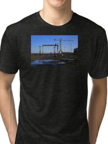 Harland & Wolff Crane Collection Tri-blend T-Shirt