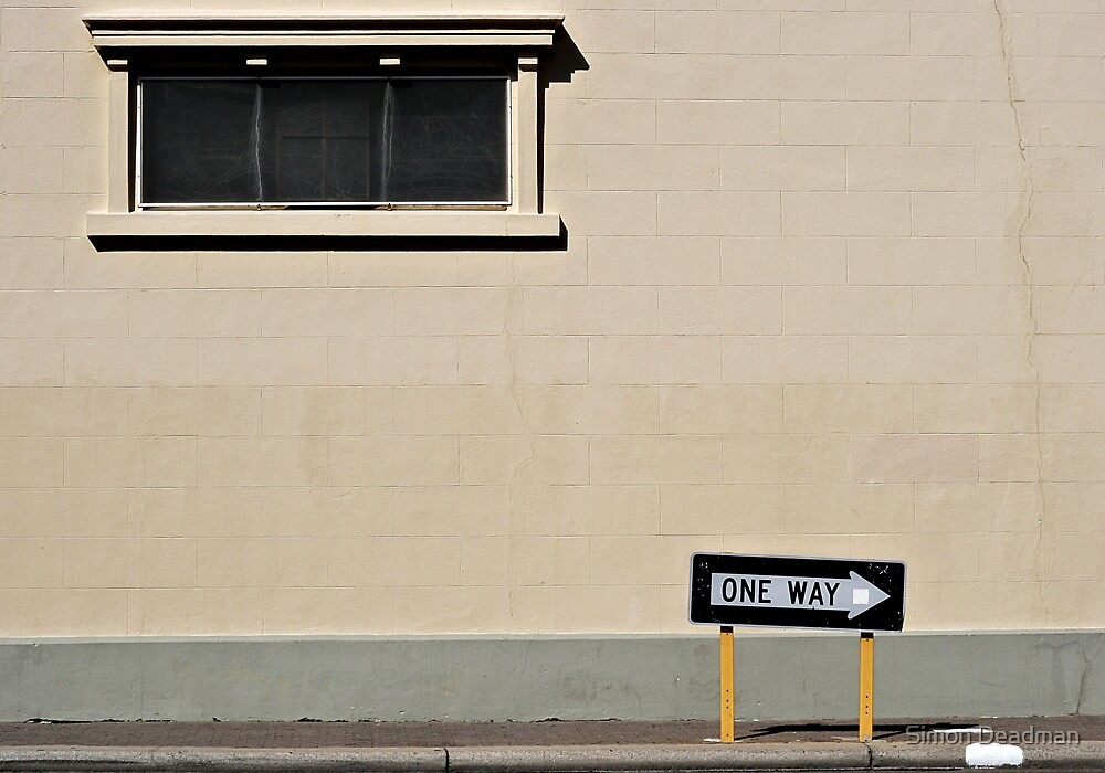 One Way by Simon Deadman