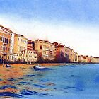 Grand Canal, Venice by Helen Lush