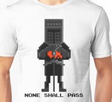 Black Knight - Monty Python and the Holy Pixel Unisex T-Shirt