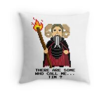 Tim the Enchanter - Monty Python and the Holy Pixel Throw Pillow