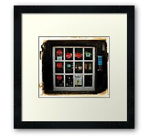Grace Neill's Window Shopping Framed Print