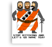 Threed Headed Giant - Monty Python and the Holy Pixel Canvas Print