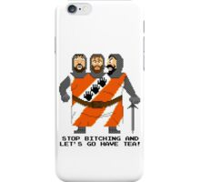 Threed Headed Giant - Monty Python and the Holy Pixel iPhone Case/Skin