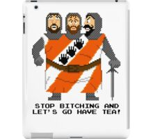 Threed Headed Giant - Monty Python and the Holy Pixel iPad Case/Skin
