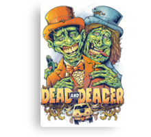 Dead and Deader Canvas Print
