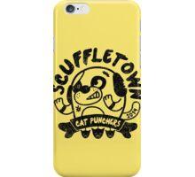 Scuffletown Cat Punchers iPhone Case/Skin