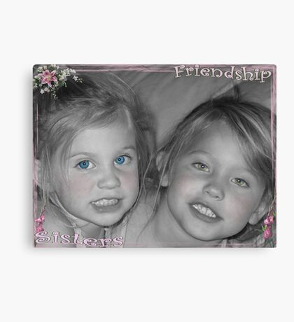 Friendship Sisters Canvas Print