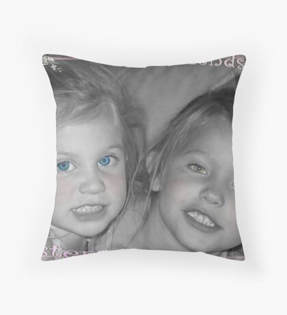 Friendship Sisters Throw Pillow