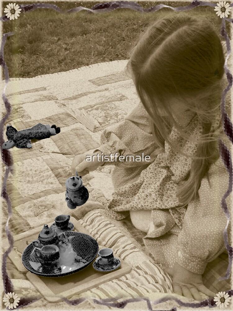 Thank Heaven for Little Girls by artistfemale