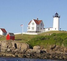 Maine Light House by becki121978