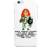 Sir Robin - Monty Python and the Holy Pixel iPhone Case/Skin