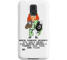 Sir Robin - Monty Python and the Holy Pixel Samsung Galaxy Case/Skin