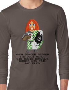 Sir Robin - Monty Python and the Holy Pixel Long Sleeve T-Shirt
