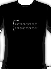 Anthropomorphic Personification (White) T-Shirt