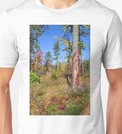 Firecracker Foliage Unisex T-Shirt