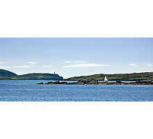 Lone sail Photographic Print