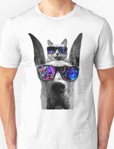 cat sunglasses dog T-Shirt