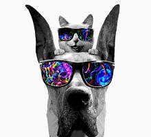 cat sunglasses dog Unisex T-Shirt