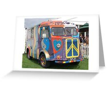 Hippy all the way! Greeting Card