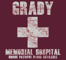 Grady Memorial Hospital by ExplodingZombie