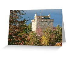 Mains Castle Greeting Card