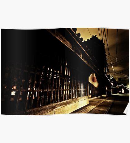 Edo at Night Poster