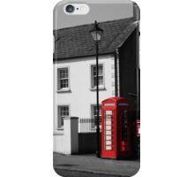 Red Highlights iPhone Case/Skin