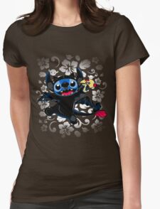 How to Train Experiment 626 Womens Fitted T-Shirt