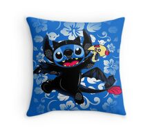 How to Train Experiment 626 Throw Pillow