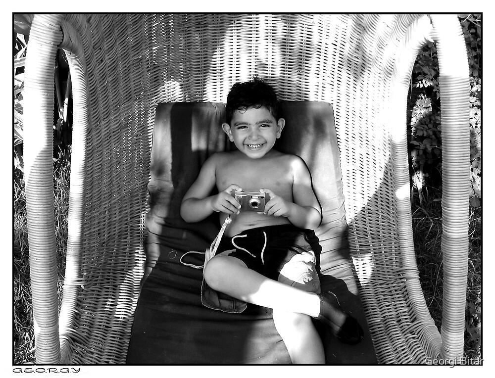 A future little photographer by Georgi Bitar