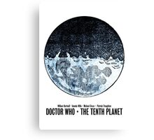 Doctor Who · The Tenth Planet Canvas Print