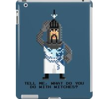 Bedevere - Monty Python and the Holy Pixel iPad Case/Skin