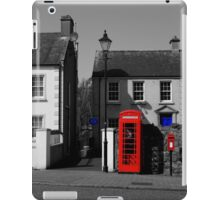 Red With A Hint Of Blue iPad Case/Skin