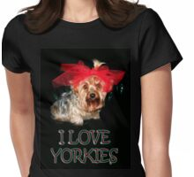 My Yorkie (ZOE) Womens Fitted T-Shirt